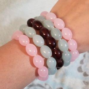 Jewelry - Glass Bead Bracelets